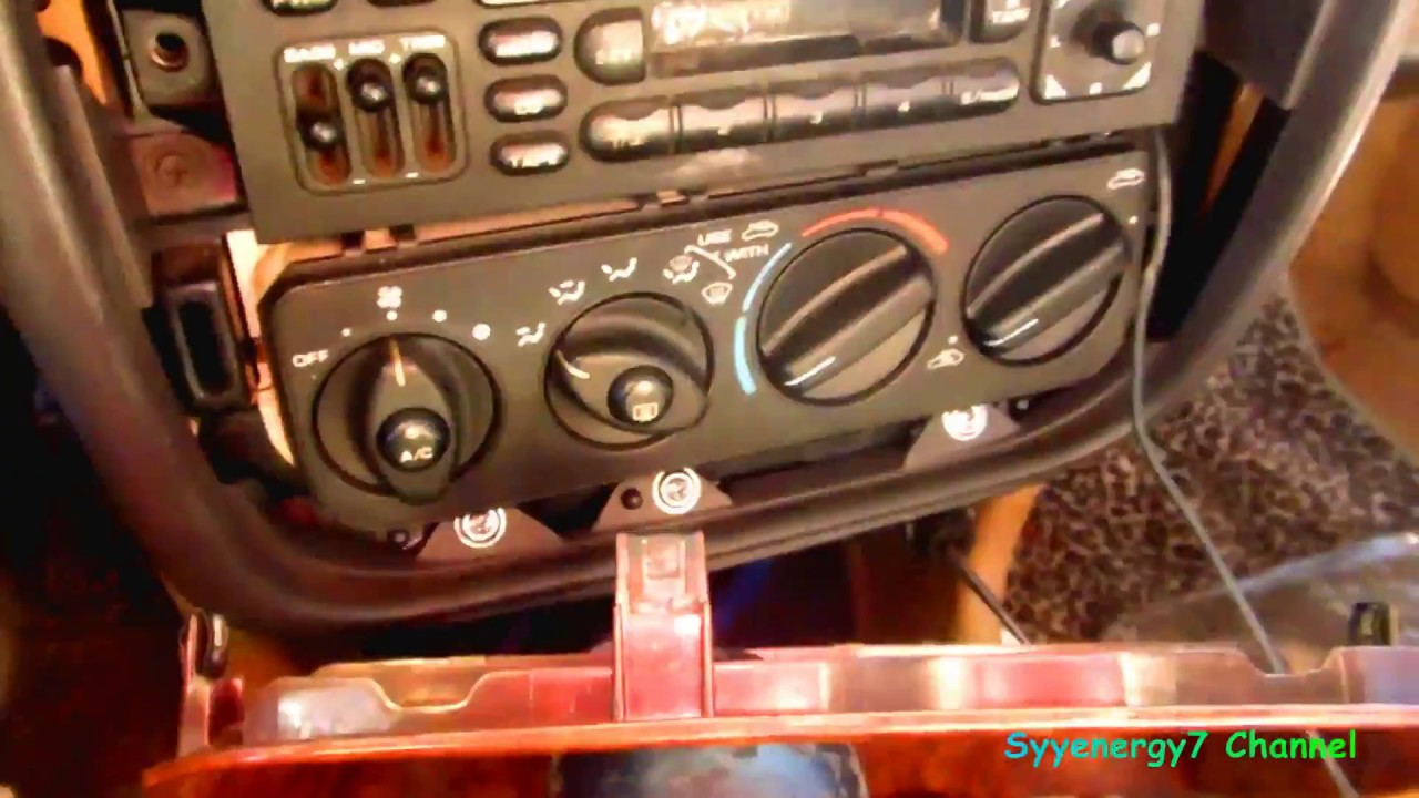 Chrysler Infinity Stereo Replacement, very easy  YouTube