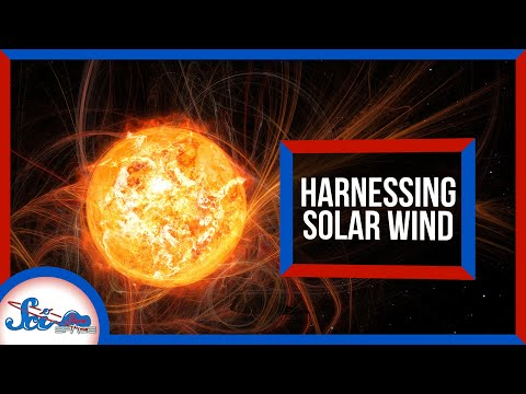 Catching Solar Wind: A Truly Endless Energy Source?