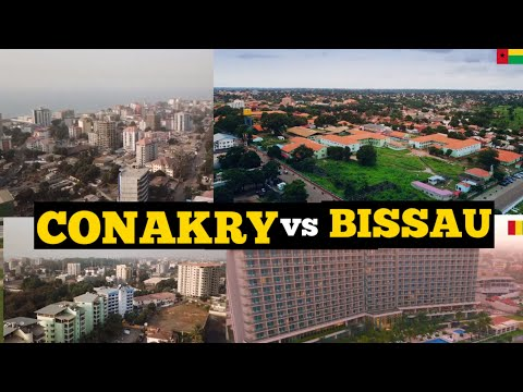 Conakry Guinea vs Bissau Guinea; which City is most beautifu