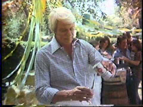 1977 Natural Light beer commercial with Peter Graves