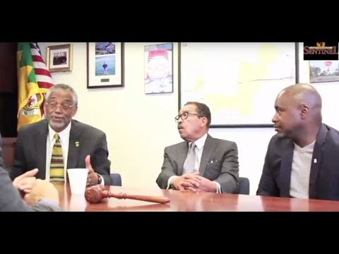 Black L.A. City Councilmen United: Herb Wesson, Curren Price and Marqueece Harris - Dawson (Part 2)