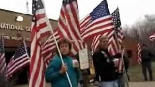 Bataan Memorial March, Brainerd, Minnesota, April 9, 2011.wmv