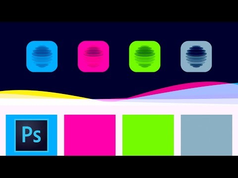 Create Flowing Color Waves Animation Effect In Photoshop – Vector Shape Download Included Here
