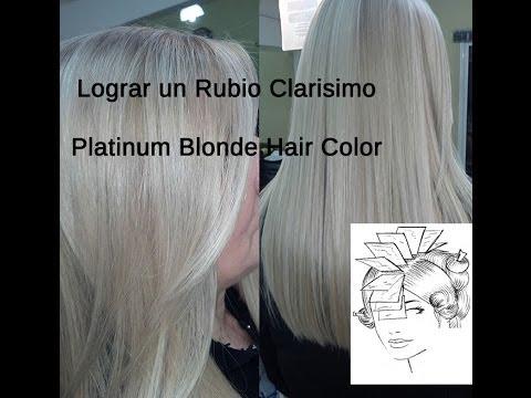 Matizar mechones o rayos color plata how to tone down yellow reflects and make hair silver - Rubio platino en casa ...