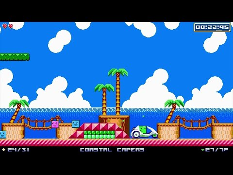 Super Life of Pixel - Announce Gameplay Trailer