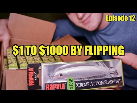 $1 TO $1,000: Reselling Fishing Lures And More!