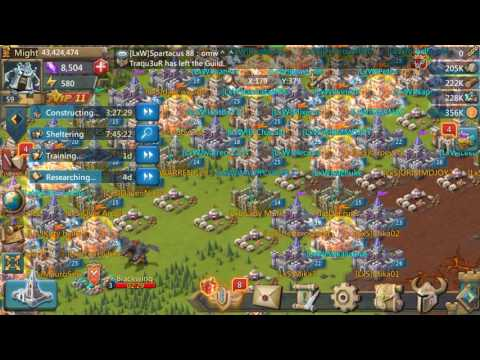 # Lords Mobile Monster Attacking & Resource Gathering Guide