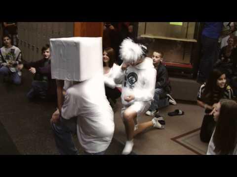 Enumclaw Middle School EMS Party Rock Mob Dance 2011
