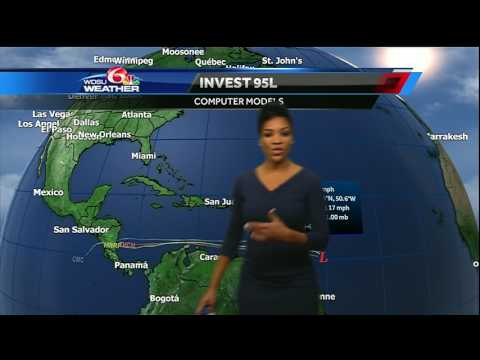 Tracking the Tropics update for 7/17/2017: Two disturbances