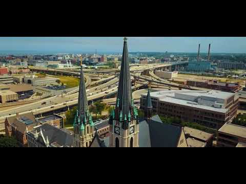Marquette University (drone footage)