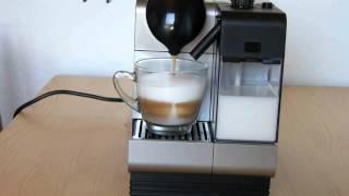Cappuccino Zubereitung mit DeLonghi Lattissima+ Nespresso Maschine