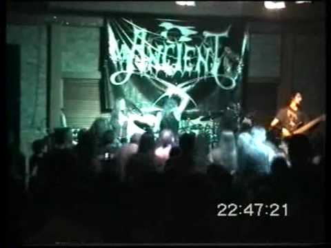 Ancient  live - Lord Kaiaphas guest appearance Thessaloniki 2003 - Part 1