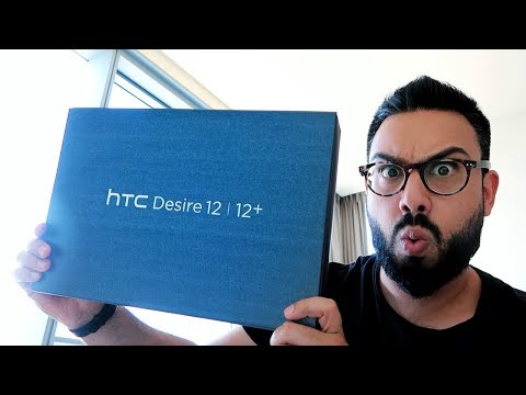 HTC Desire 12 and 12+ UNBOXING and FIRST LOOK !!!