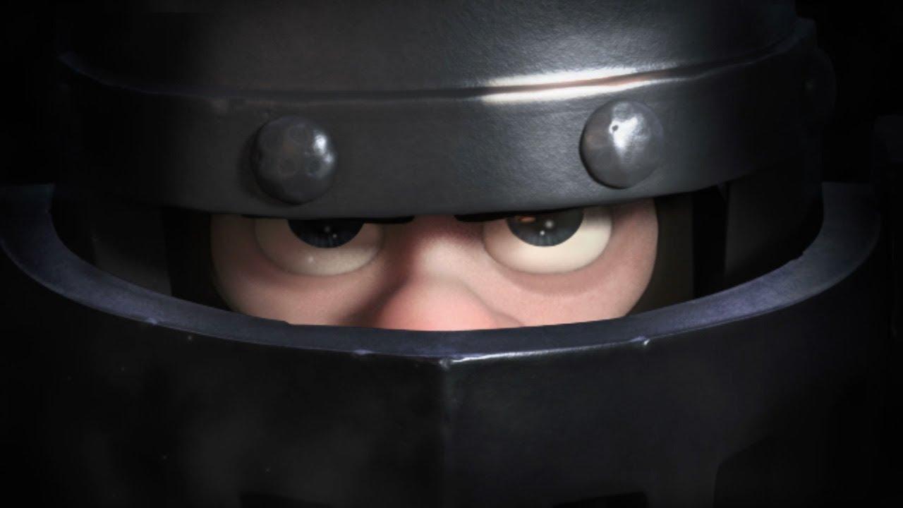 how to draw clash royale mega knight