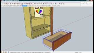 Sketchup Skill Cabinet Drawer