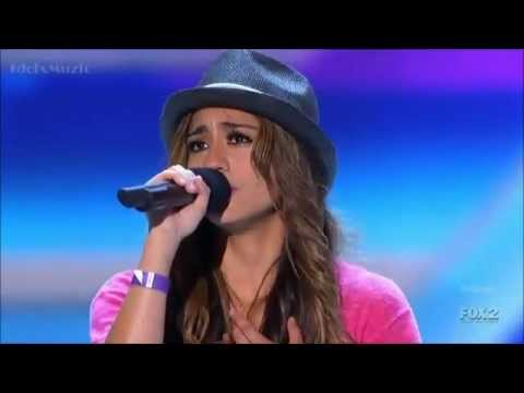 The X Factor USA 2012 - Ally Brooke's Audition