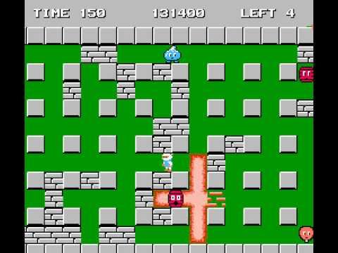 [Dendy/NES] Bomberman [Полное прохождение / Longplay]