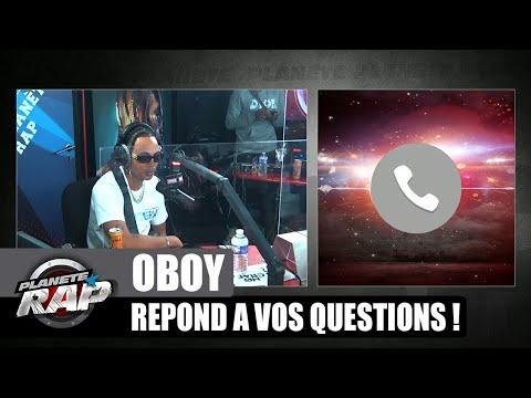 Youtube: OBOY répond à VOS questions et FRED se FÂCHE! #PlanèteRap