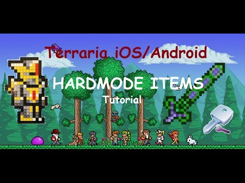 Terraria iOS/Android - Let`s Cheat (ADD NEW ITEMS)