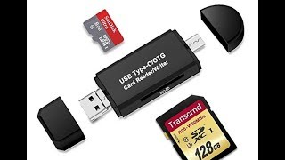 Rusee SD Card Reader/USB SD Card Reader, Rusee Micro USB OTG Adapter and USB 2.0 Review