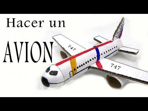 Reciclaje - Como hacer un Avion - YouTube