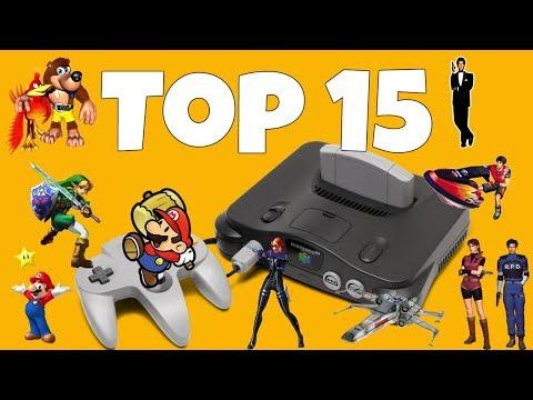 Top 15 Mejores Juegos de Nintendo 64 con link de Descarga MegaEspañolInglesRom