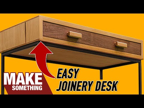 How to Make a Writing Desk | Easy Woodworking Project