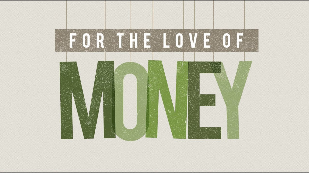 For the love of money! - Sunday 12th July