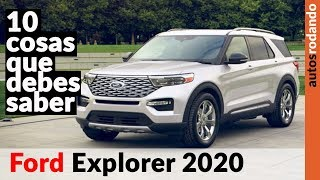 FORD EXPLORER 2020 ►10 THINGS YOU SHOULD KNOW 👈