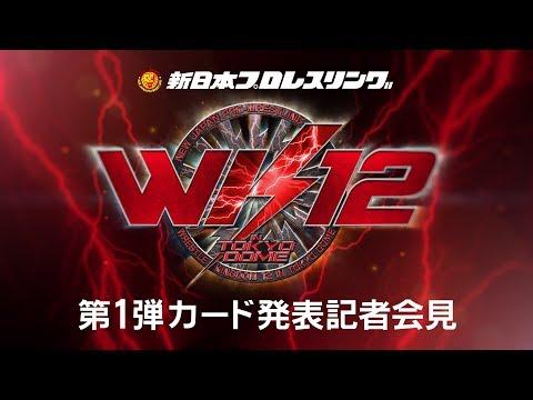 WRESTLE KINGDOM 12 in Tokyo dome  Press Conference/????? ????