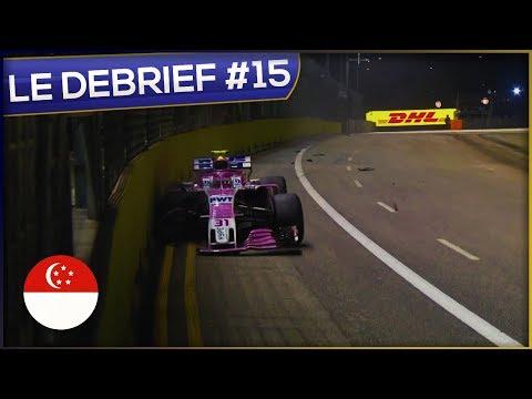 Le Débrief du Grand Prix de Singapour  F1