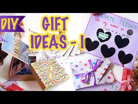 DIY Gift Ideas for Him/Her - 1| Heart Envelope | Scratch Off Card | Photo Album | Kreena Desai