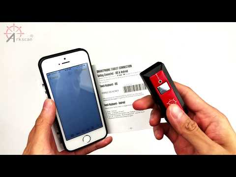 How to pair Bluetooth Barcode Scanner with iOS iPhone iPad Wirelessly Tutorial Guide updated 2019