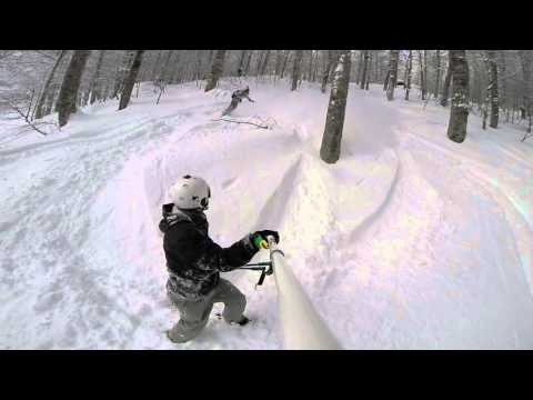 Freeride Sochi Krasnaya Polyana 2016 ski snowboard