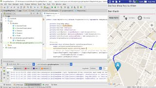 Basic Google Maps API Android Tutorial + Google Maps Directions API Free HD Video