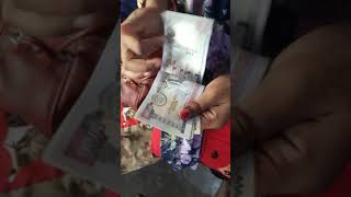 How to count 1000 cash nepali note