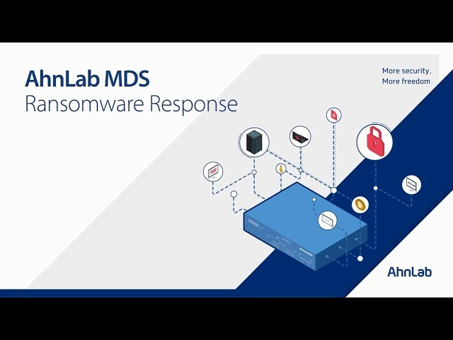 Responses to Ransomware by AhnLab MDS (Eng)