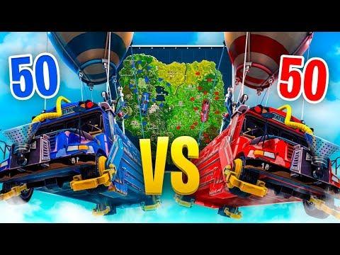 SOLO in NEW 50 vs 50 MODE - Fortnite Battle Royale