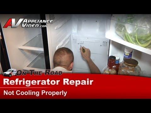 Refrigerator Repair & Diagnostic- Not Cooling-Warm temperatures - Samsung