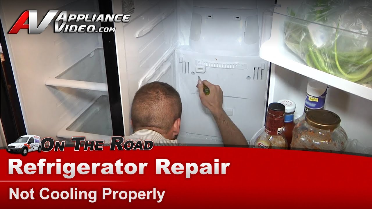 refrigerator repair diagnostic not cooling warm temperatures samsung youtube [ 1920 x 1080 Pixel ]