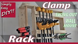 DIY Clamp Rack - Wall Mounted