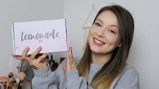 LEMONADE BOX NOVEMBER 2019 UNBOXING | Sammy Louise