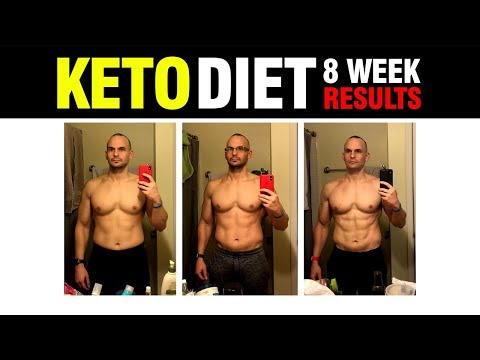 KETO DIET RESULTS - 8 WEEKS | 2018