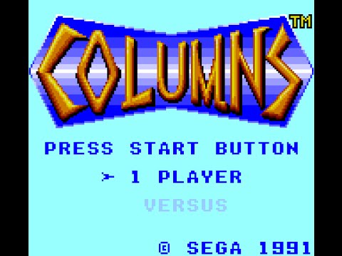 Game Gear Longplay [043] Columns