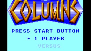 Game Gear Longplay [043] Columns
