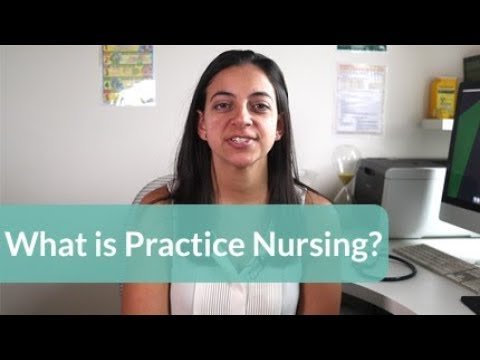 What is practice nursing or nursing in general practice?