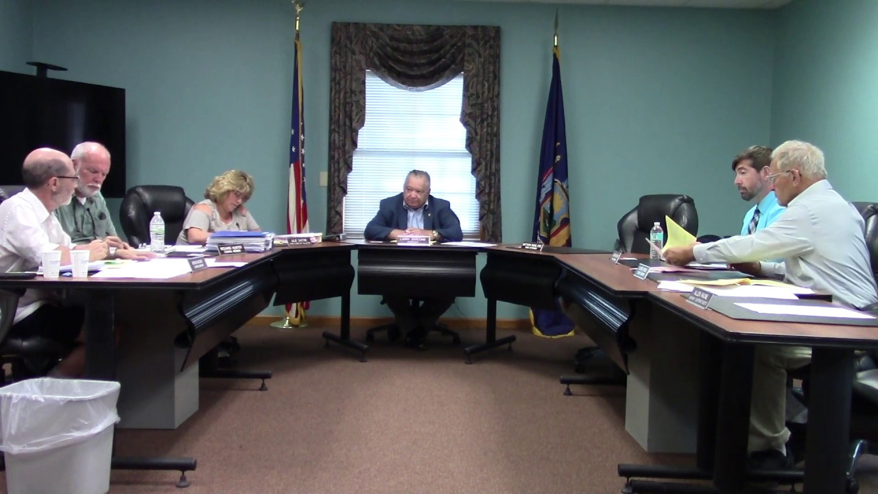 Champlain Town Board Meeting  8-13-19