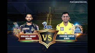 M33 KKR VS CSK IPL 2018 Full Highlights Stadium View Hd
