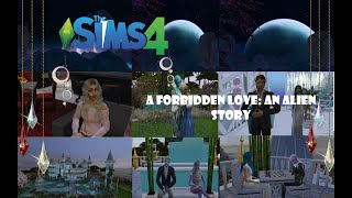 The Sims 4 A Forbidden Love: A Alien Story|  Confession at the Ball ep.3