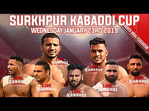 🔴LIVE Surkhpur (Kapurthala) Kabaddi Cup 2019 | LIVE KABADDI
